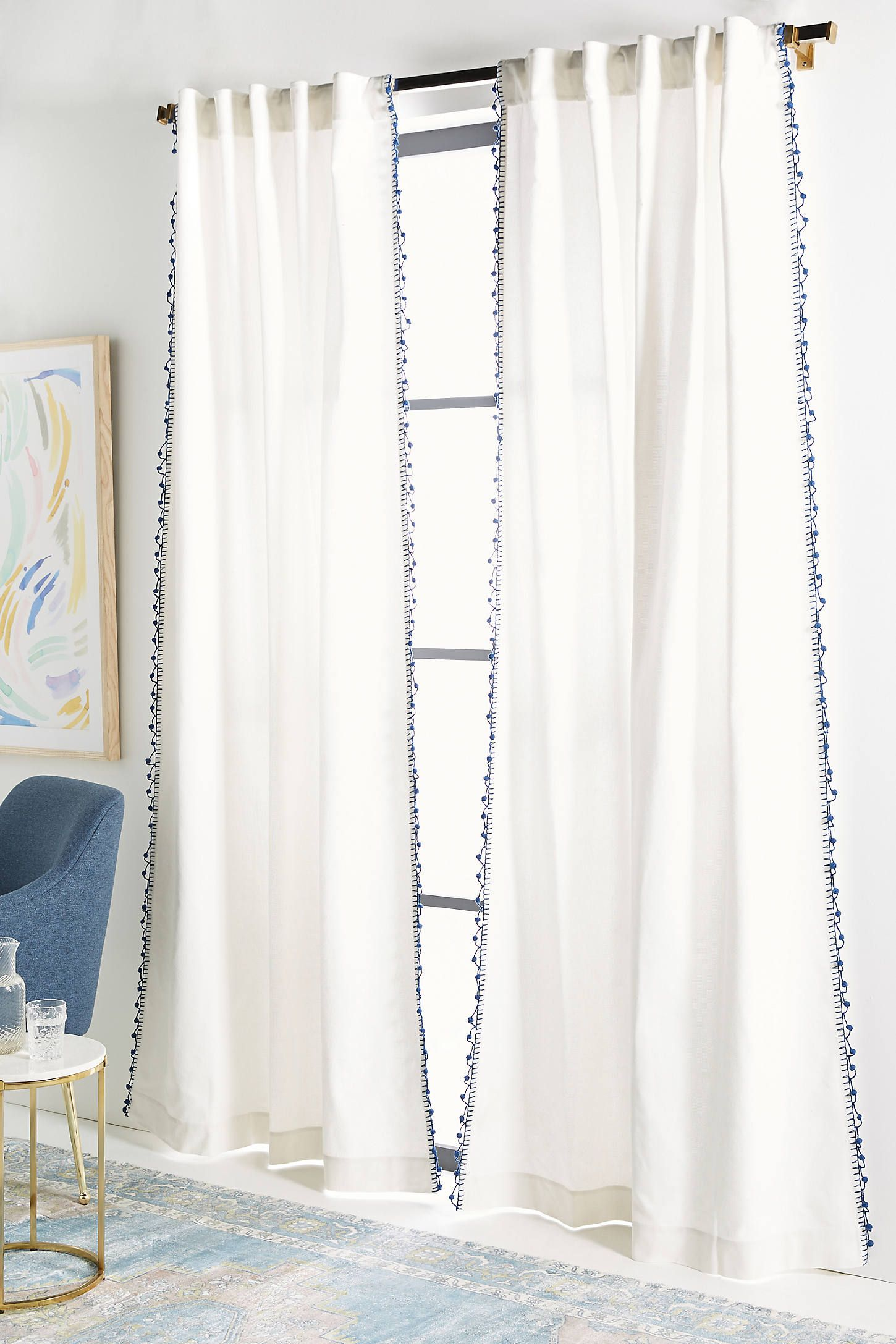 Pommed Regina Curtain In 2020 Curtains Custom Drapes Drapes