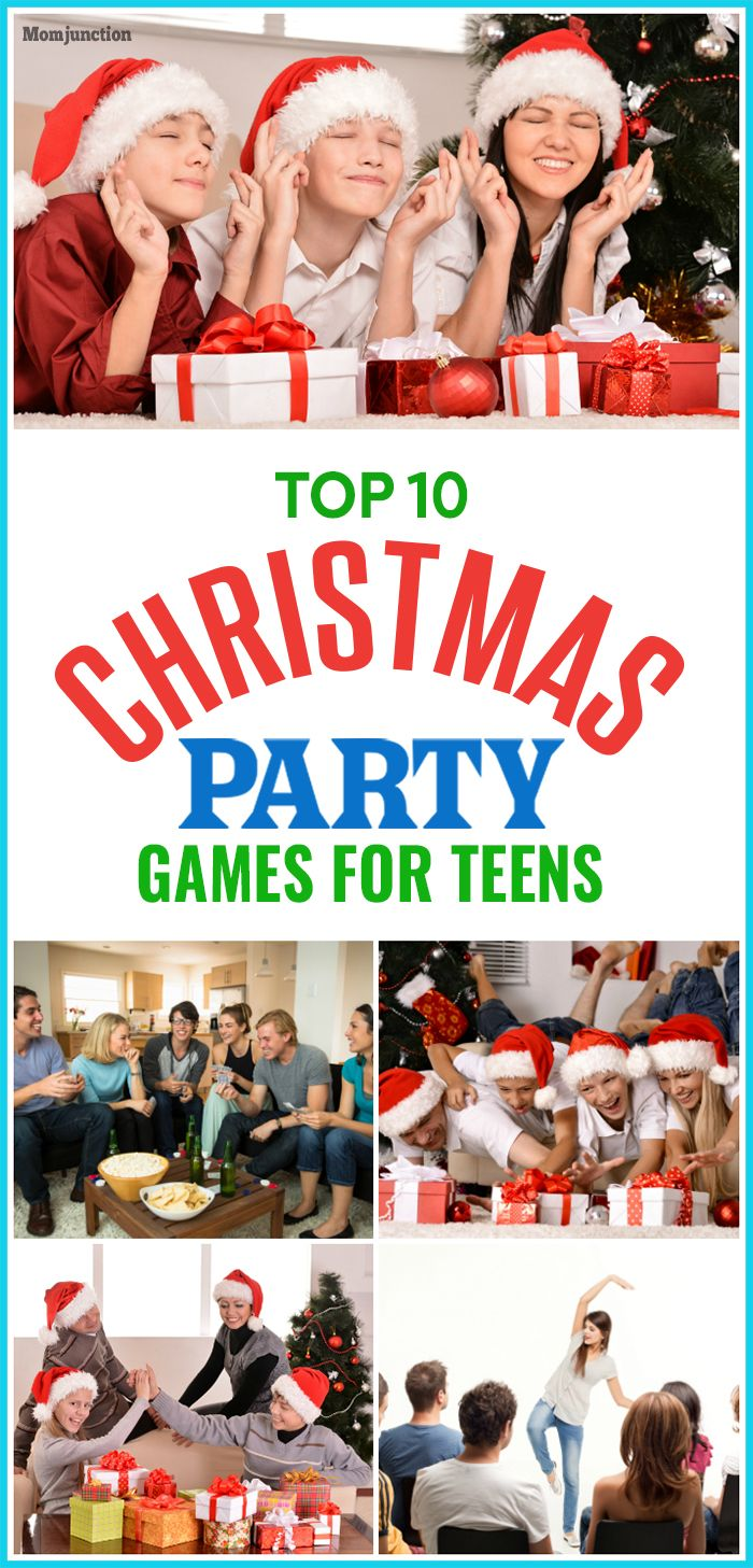 Christmas Party Ideas For Teens Part - 39: Here Are The Fun Christmas Party Games For Teens That You Can Add To The  Festive