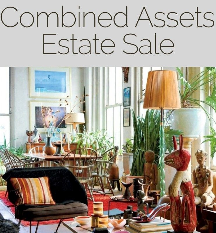 Combined Assets Gallery Estate Sale Model Home Furnishings