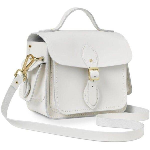 170bdd536b4 Clay Small Traveller Bag With Side Pockets   Cambridge Satchel ❤ liked on  Polyvore featuring bags and luggage