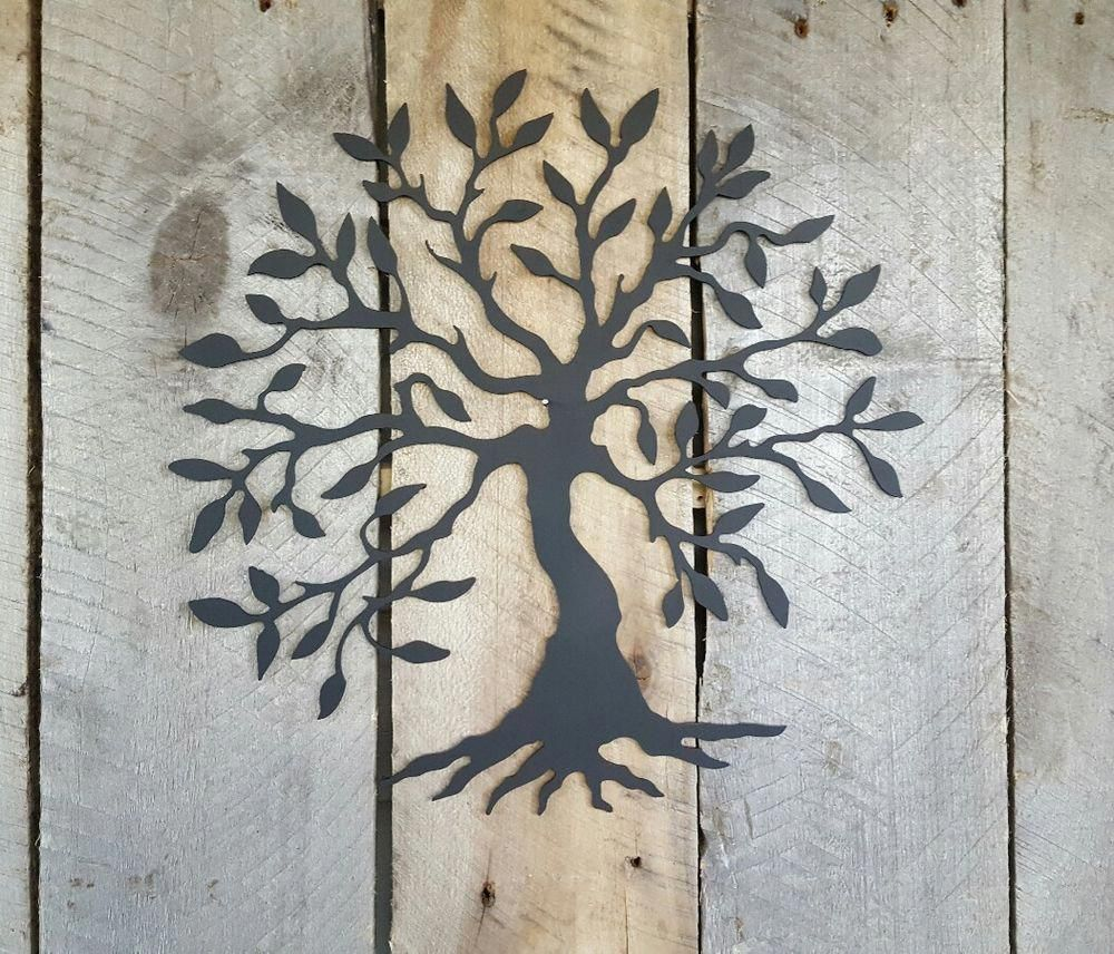 Tree of Life Metal Wall Art Hanging Home Decor 14/""