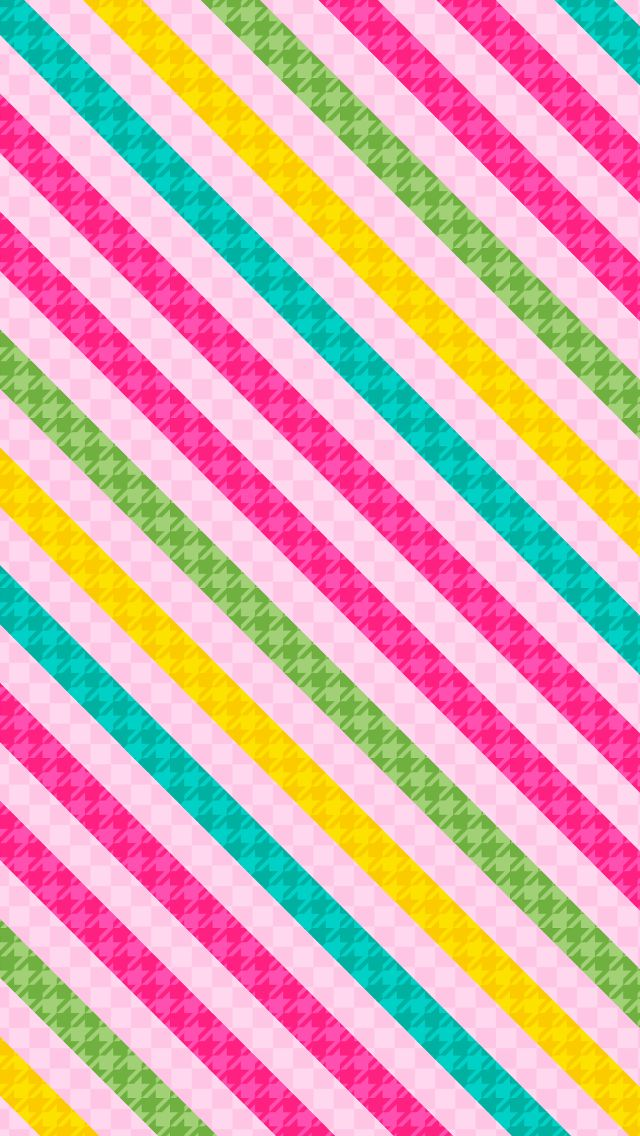 Very nice stripe background wallpaper for iPhone #pattern #colorful | iPhone 8 & iPhone X ...