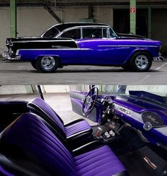 Incredible 1955 Chevy Bel Air Pro Street Build
