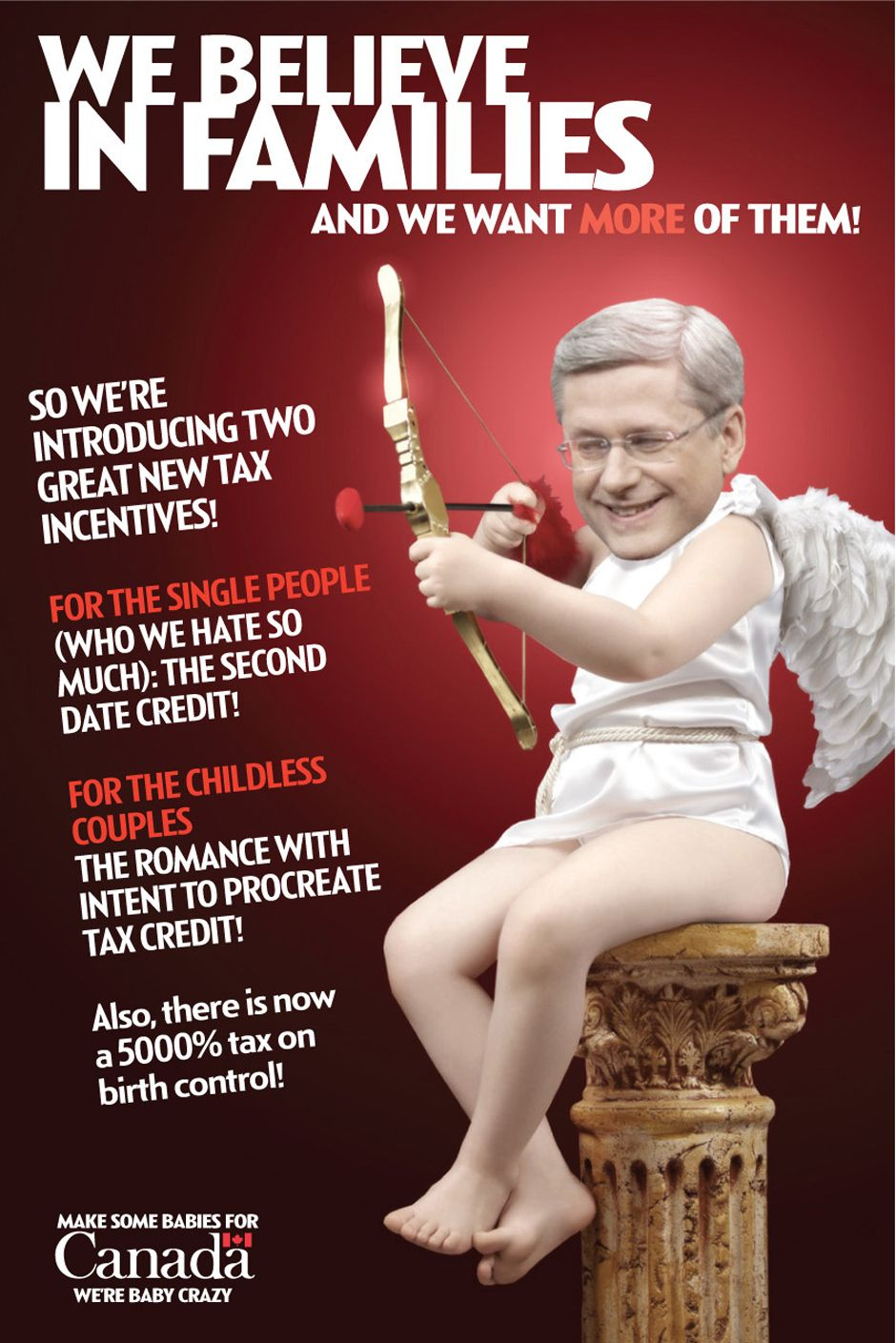 Satirical ad campaign for the Conservative Party of Canada ...