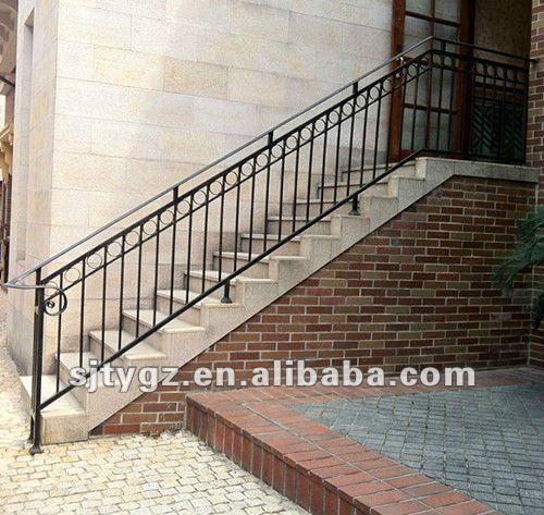 Ultimo moderno ringhiera scala esterna di ferro battuto - Ringhiere per scale esterne ...