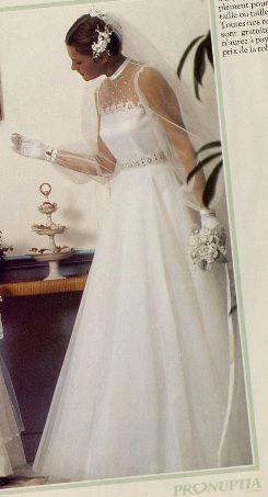 Robe de mariée Mam'zelle de chez Pronuptia