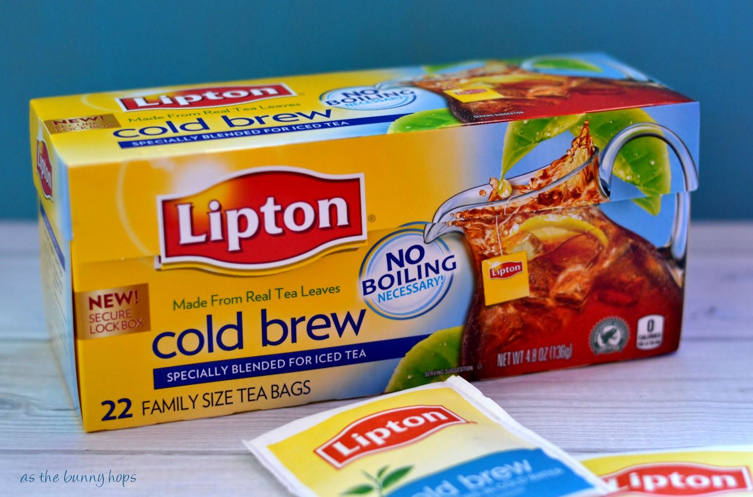 How to easily making sweet tea lipton bags