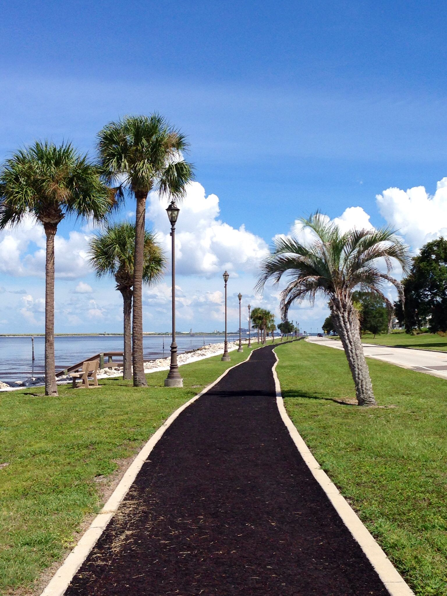 Walking path at MacDill AFB. Places to travel, Walking