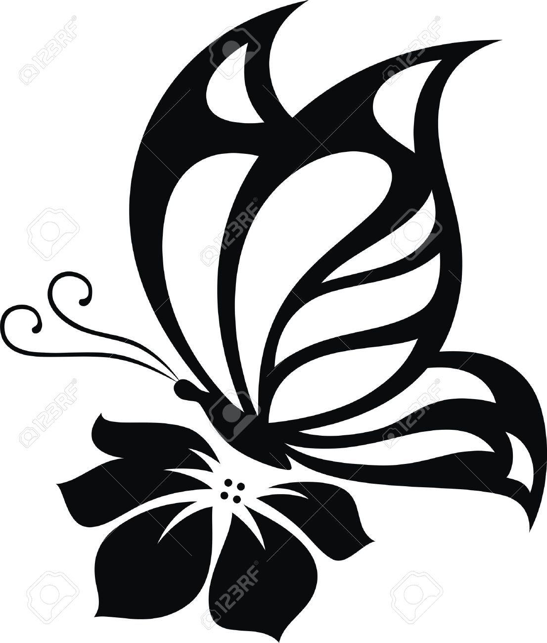 Resultado de imagen para dibujos de mariposas para colorear | mural ...