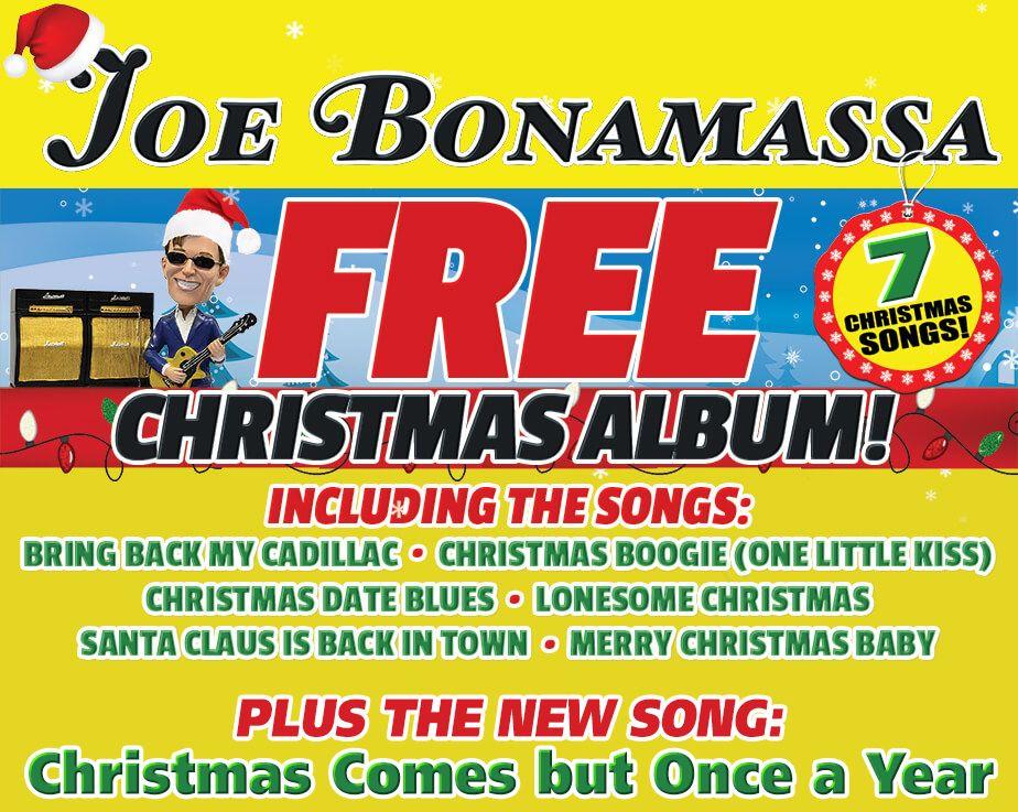Joe Bonamassa | Free Christmas Album | 2017 | joe | Pinterest ...