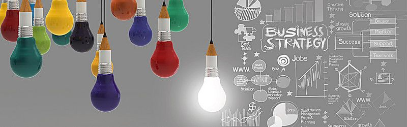 Good Ideas And Creative Business Strategy Chart Linkedin Background Linkedin Background Image Wallpaper Linkedin