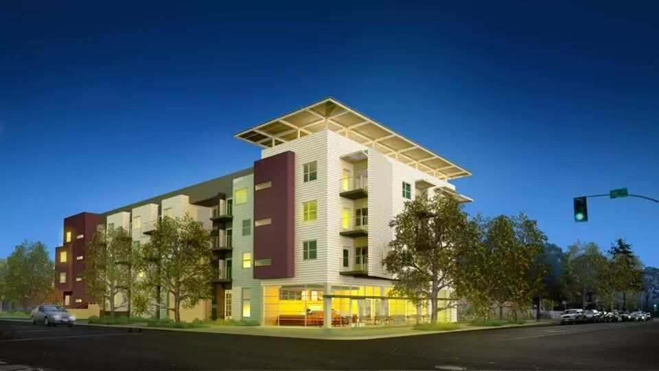 Lavender Rendering Mutual Housing Is Proud To Partner With Sacramento Lgbtq Community Leaders To Plan And Develop Af Affordable Housing California House Styles