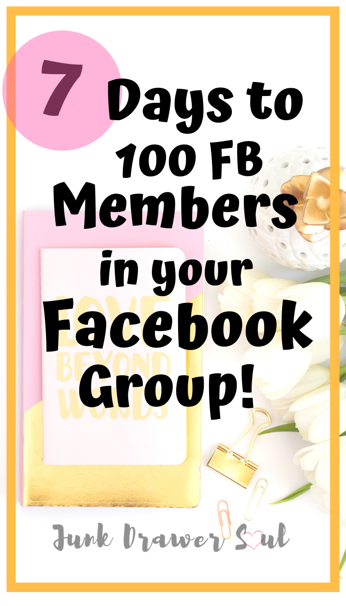 6 STEPS TO CREATE AN ENGAGED FB GROUP & YOUR FIRST 100 PEOPLE IN 7 DAYS! |  How to use facebook, Make money blogging, Blogging for beginners