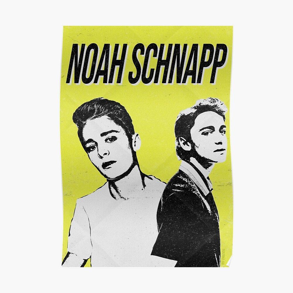 Póster 'Noah Schnapp Retro' de marinagb en 2020 Retro