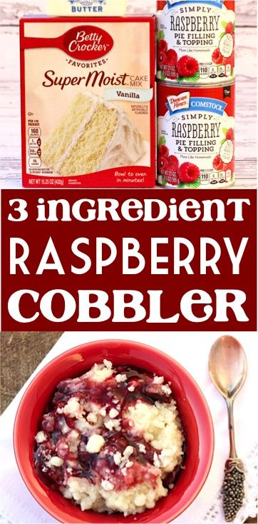 Photo of Cobbler With Cake Mix Easy