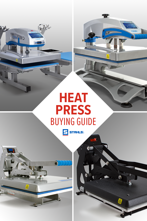 Learn Which Heat Press Is Right For Your Business With This Free Guide Heat Press Heat Buying Guide