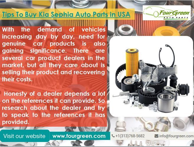 Four green Auto Parts online shops for all automotive parts for all ...
