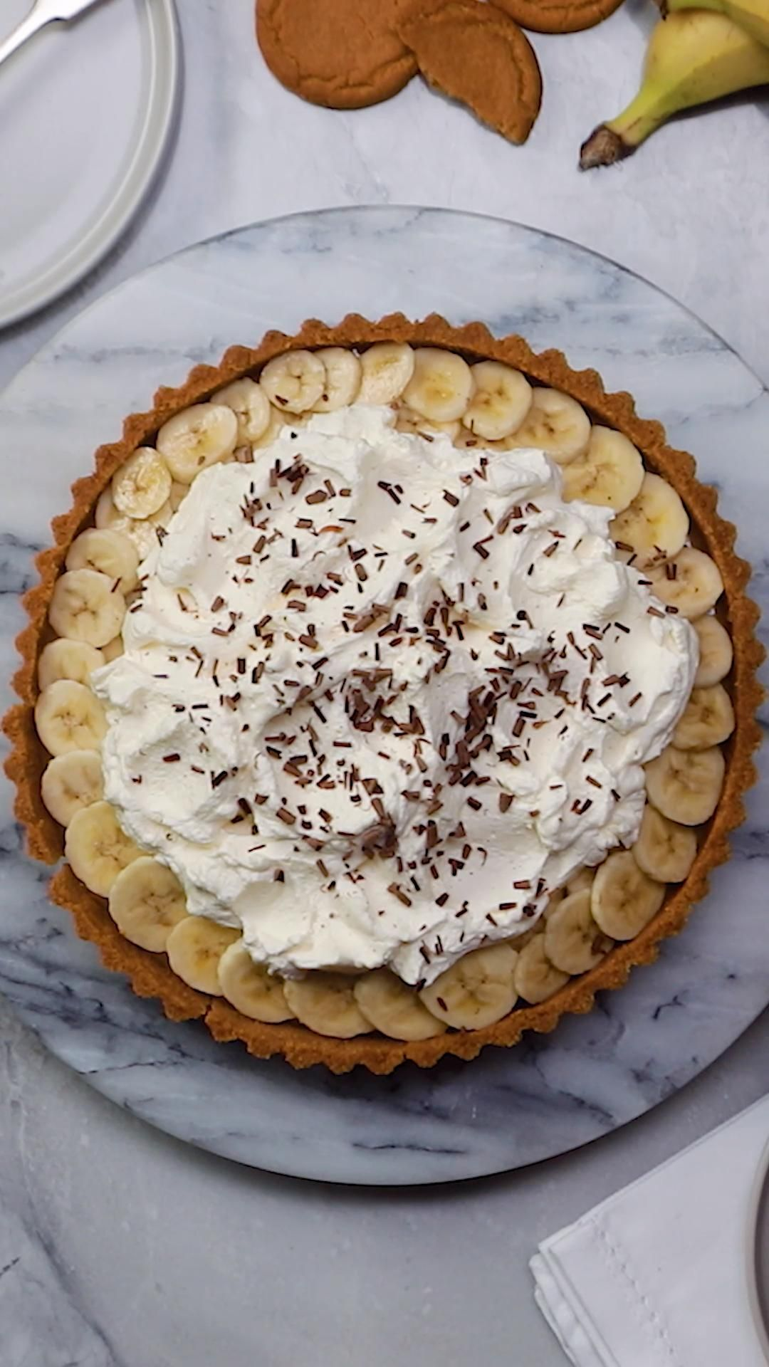 The Best Ever Banoffee Pie #bananapie