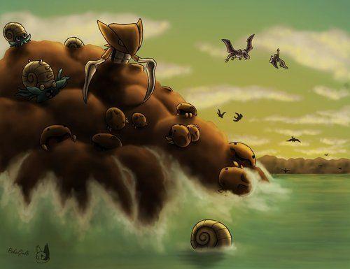 Kabuto   Fossil pokemon, Wild pokemon, Pokemon  Kabuto Pokemon Fossil