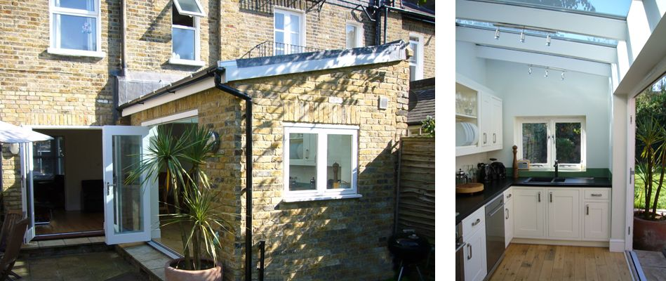 A small extension to a period end of terrace house to for Kitchen ideas terraced house