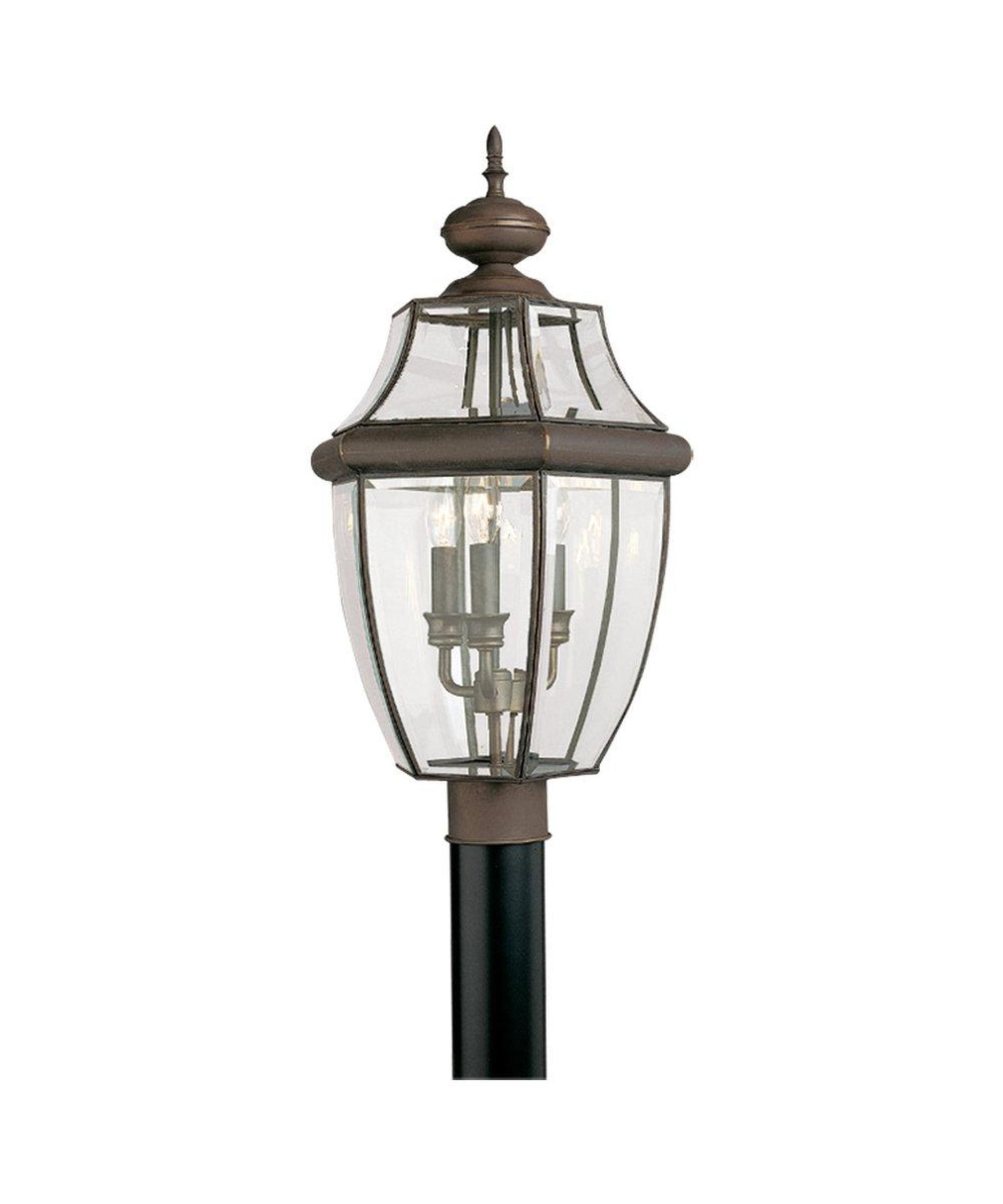 Sea gull lighting 8239 lancaster 3 light outdoor post lamp outdoor sea gull lighting 8239 lancaster 3 light outdoor post lamp aloadofball Gallery