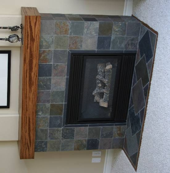 fireplace slate. 27  Stunning Fireplace Tile Ideas for your Home Slate fireplace