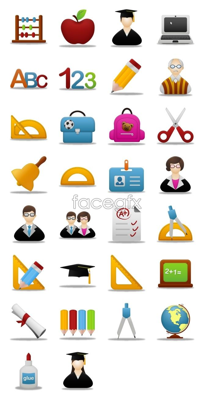 Learning Tools Icons Learning Tools Icon