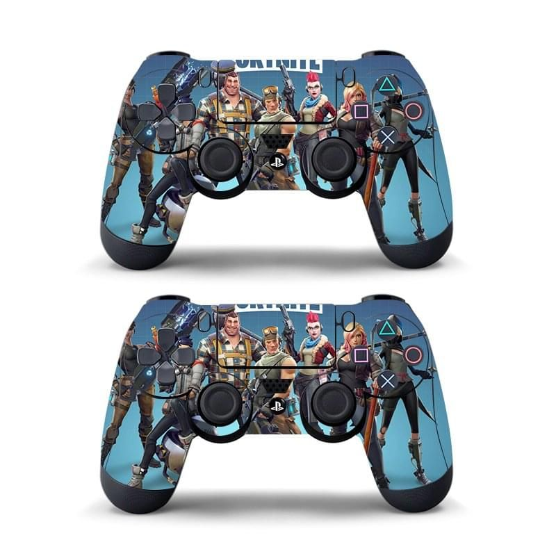 Fortnite Sticker For Sony PlayStation 4 PS4 Game