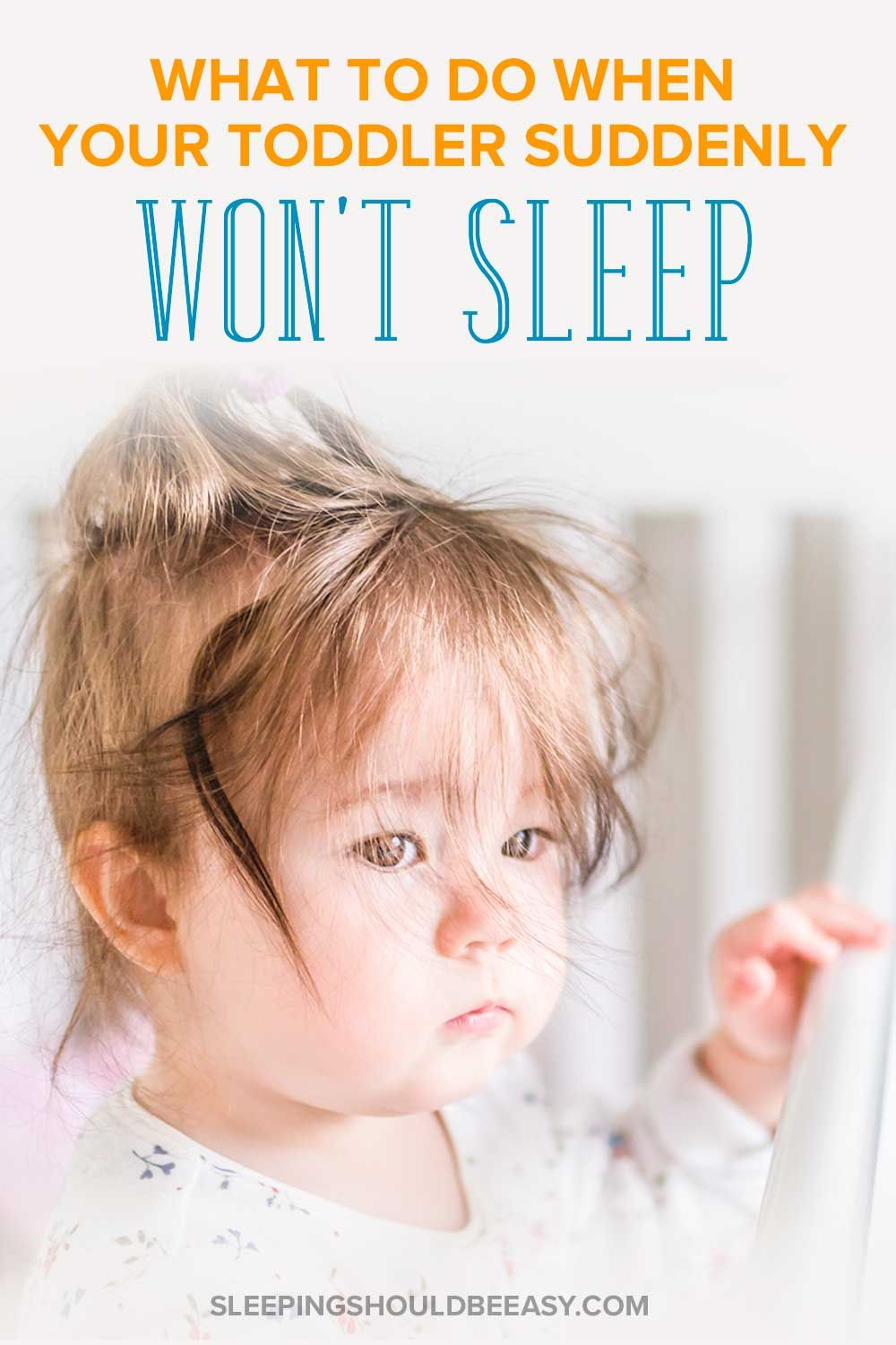 Parents, This Is What You Do When Your Toddler Won't Sleep ...