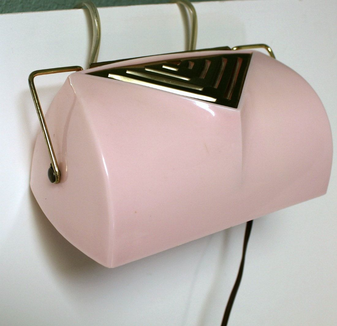 Vintage Pink Chic Headboard Light Lamp Reading Bedroom ...
