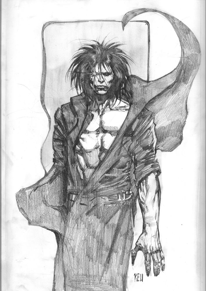 The Sandman by Keu Cha