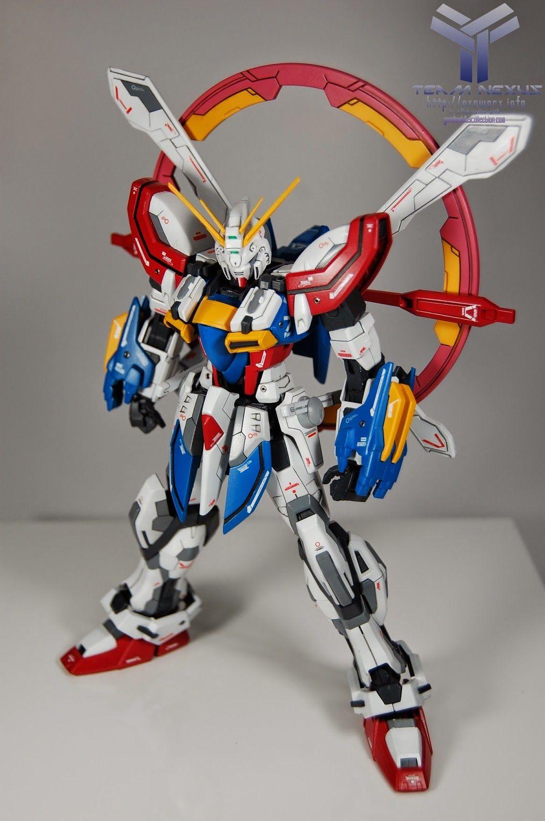 "MG 1/100 God Gundam ""Evolve"" Custom Build Gundam Kits"