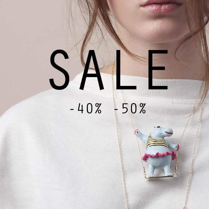 Enjoy our summer sale from now on until Tuesday 29th of July #n2 #n2paris #jewellery #summer #sale