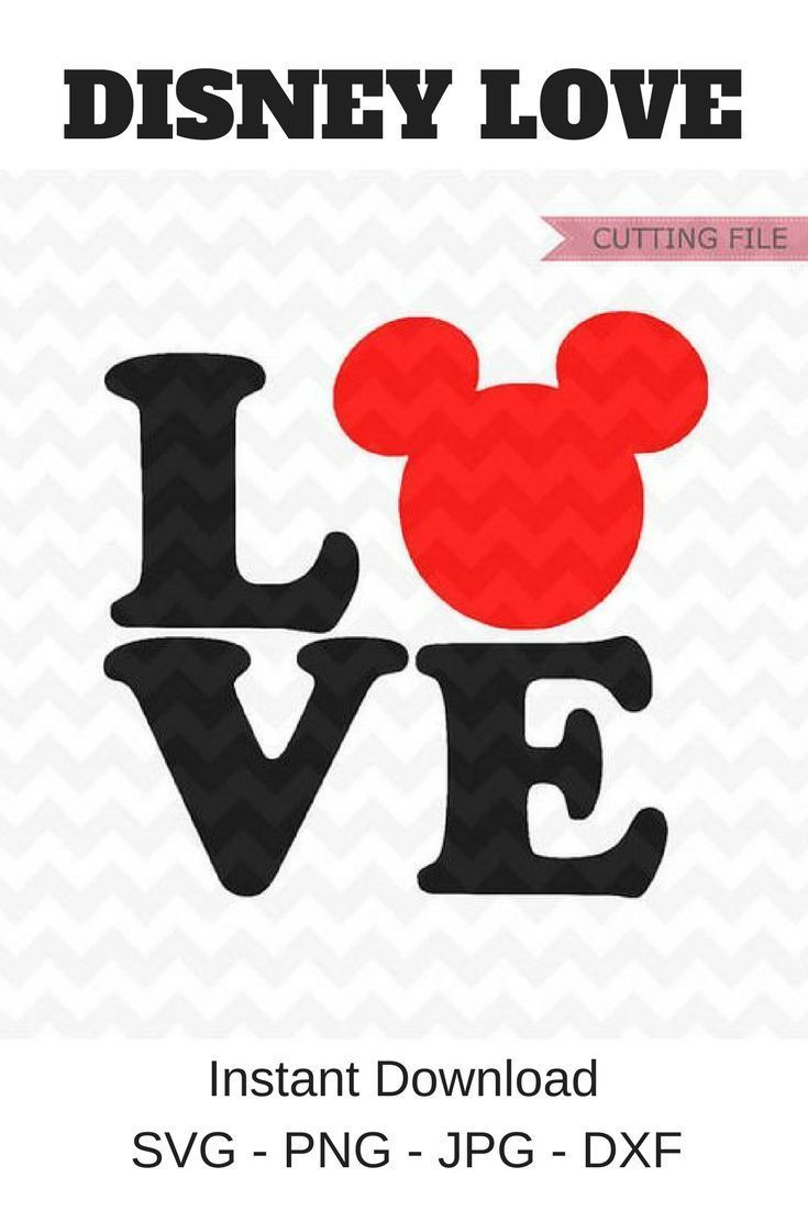 Download I would put this Mickey Love pattern on almost anything ...