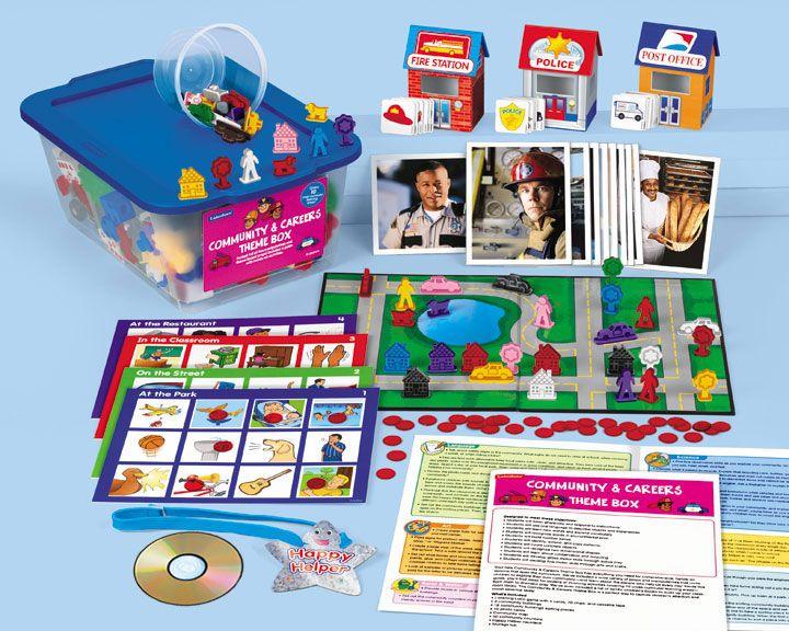 Lakeshore Classroom Design Tool ~ Community careers theme box lakeshore dream classroom