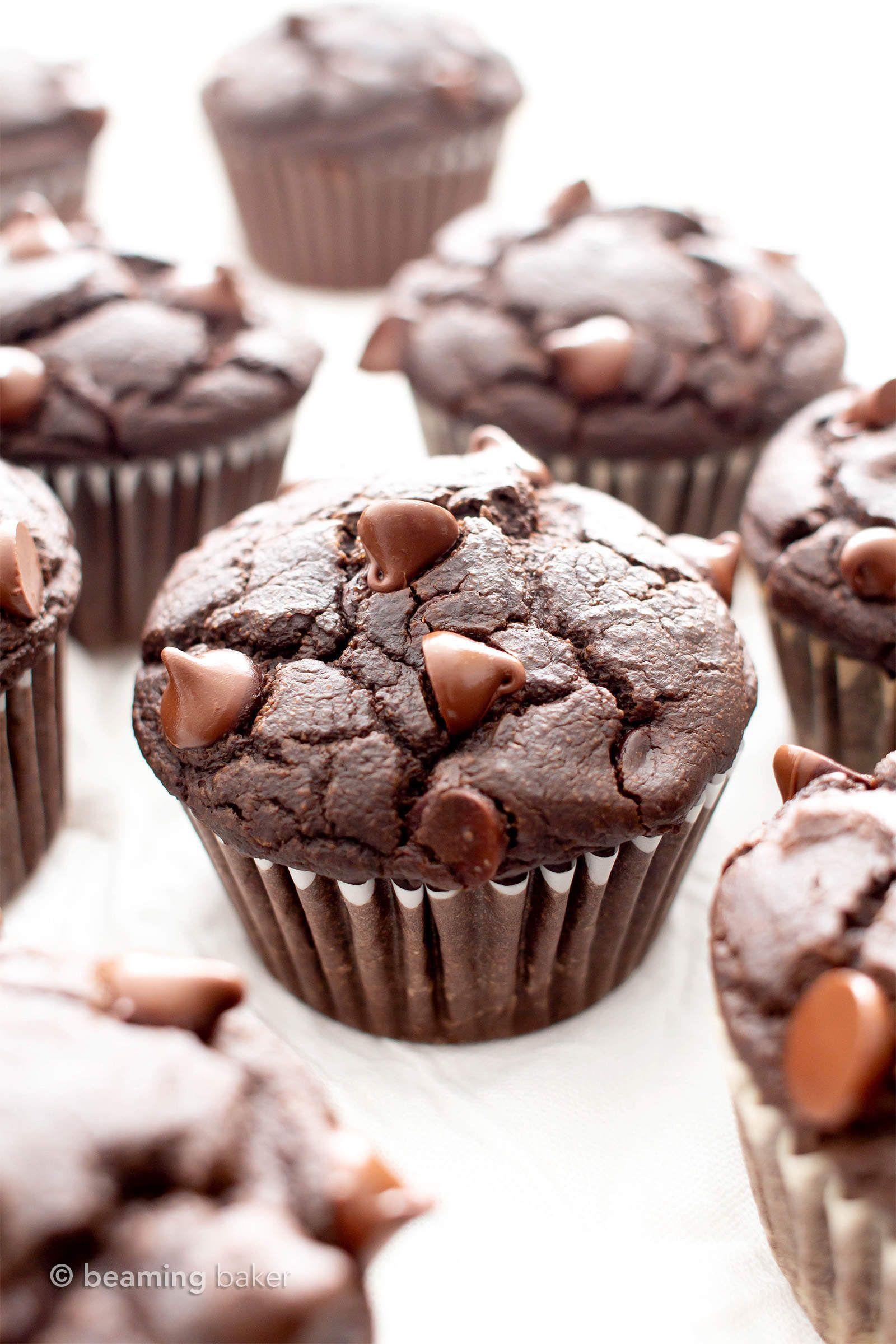 Best vegan gluten free moist chocolate muffins recipe