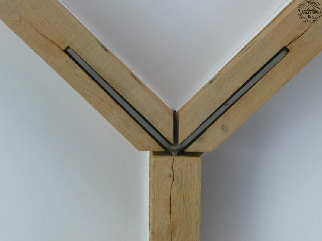 Harkavy furniture focuses on modern pieces made of wood and steel - Steel To Wood Joint Detail
