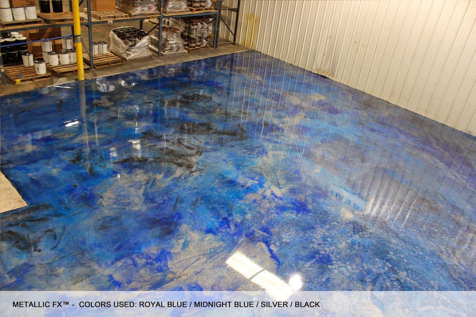 SURFKOAT™ Unveils New Metallic Epoxy Concrete Floor