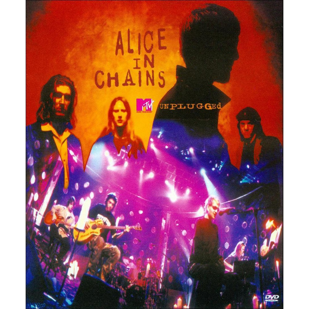 Alice In Chains Unplugged Dvd Mtv Unplugged Alice In Chains