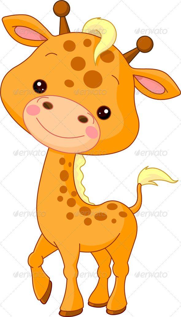 Baby Animals Cartoon Images : animals, cartoon, images, Giraffe, Cartoon, Animals,, Pictures,, Pictures