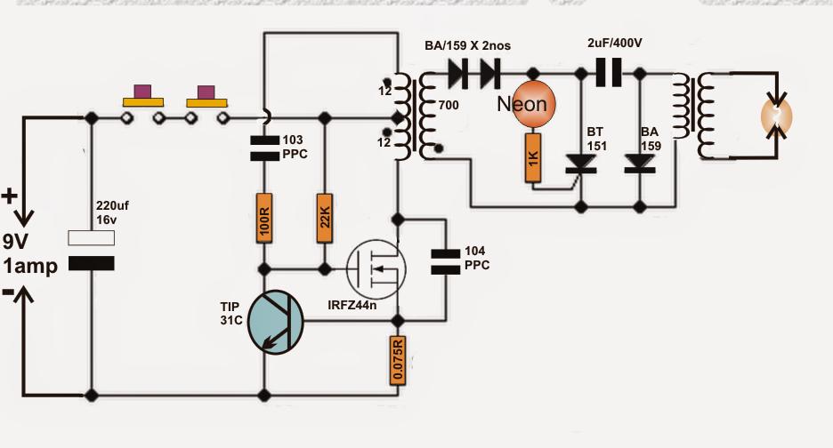 homemade circuit board