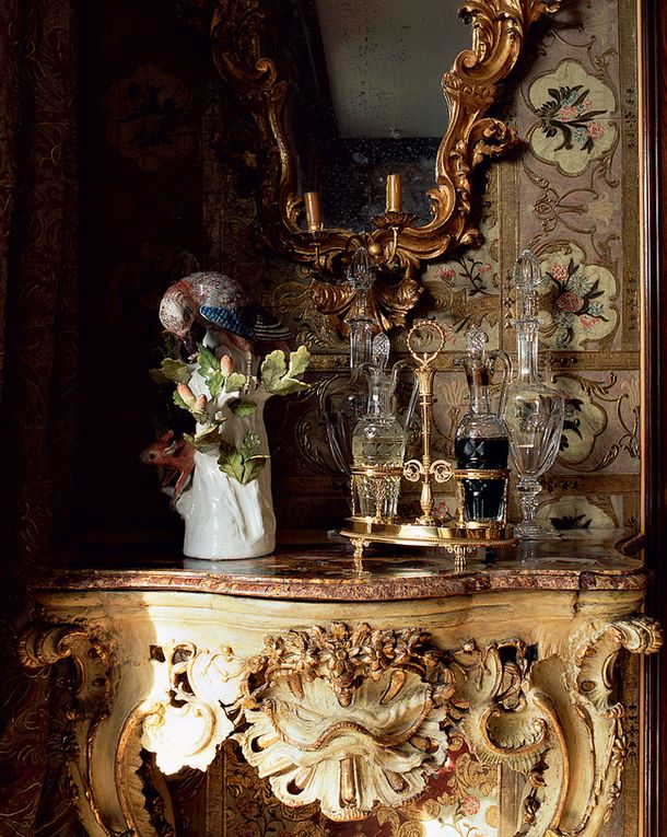 rich and gorgeous home decor - Luvranzh - the estate of Prince Marescotti Ruspoli and his wife Decius