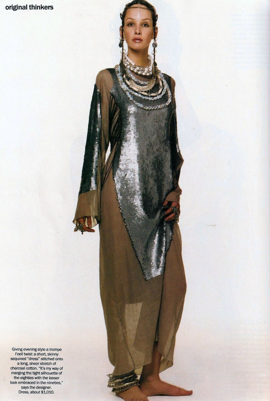 Bridget Hall USA 1998, 2001-2002