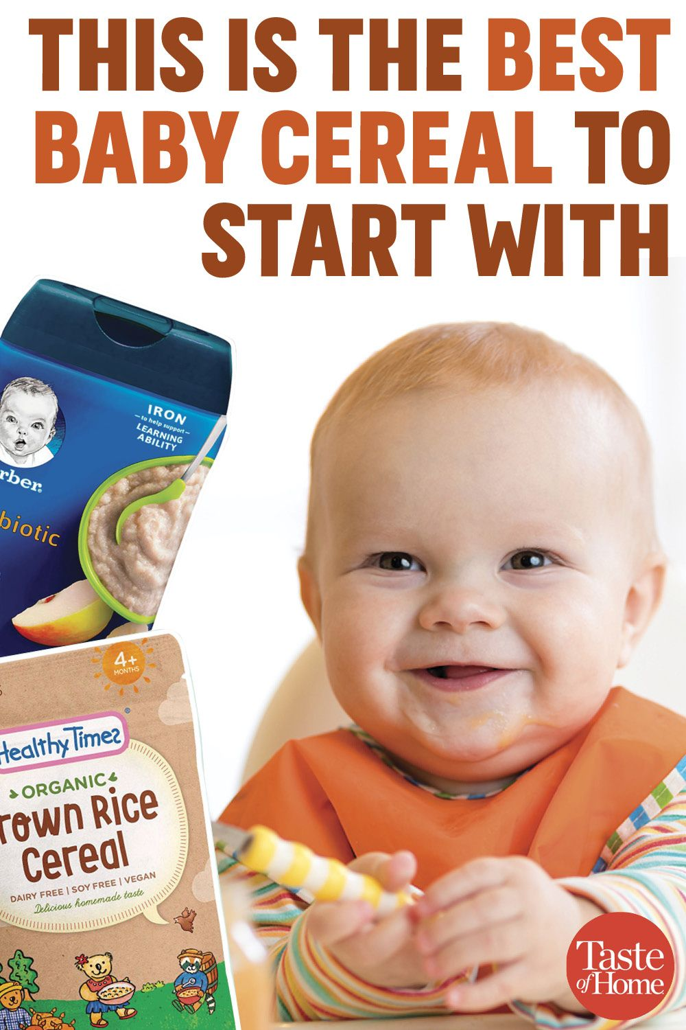 This Is the Best Baby Food Cereal to Start With   Baby ...