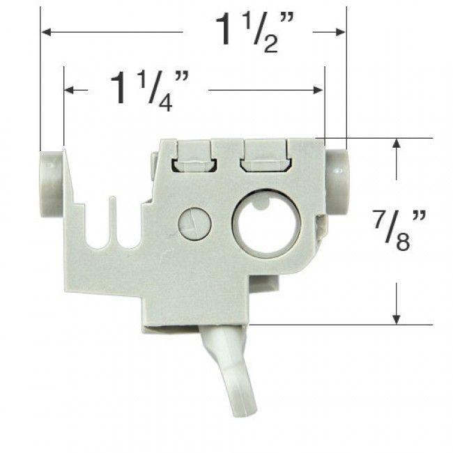 Decomatic Vertical Blind Tilt Mechanism 507 Vertical Blinds Blind Repair Blinds