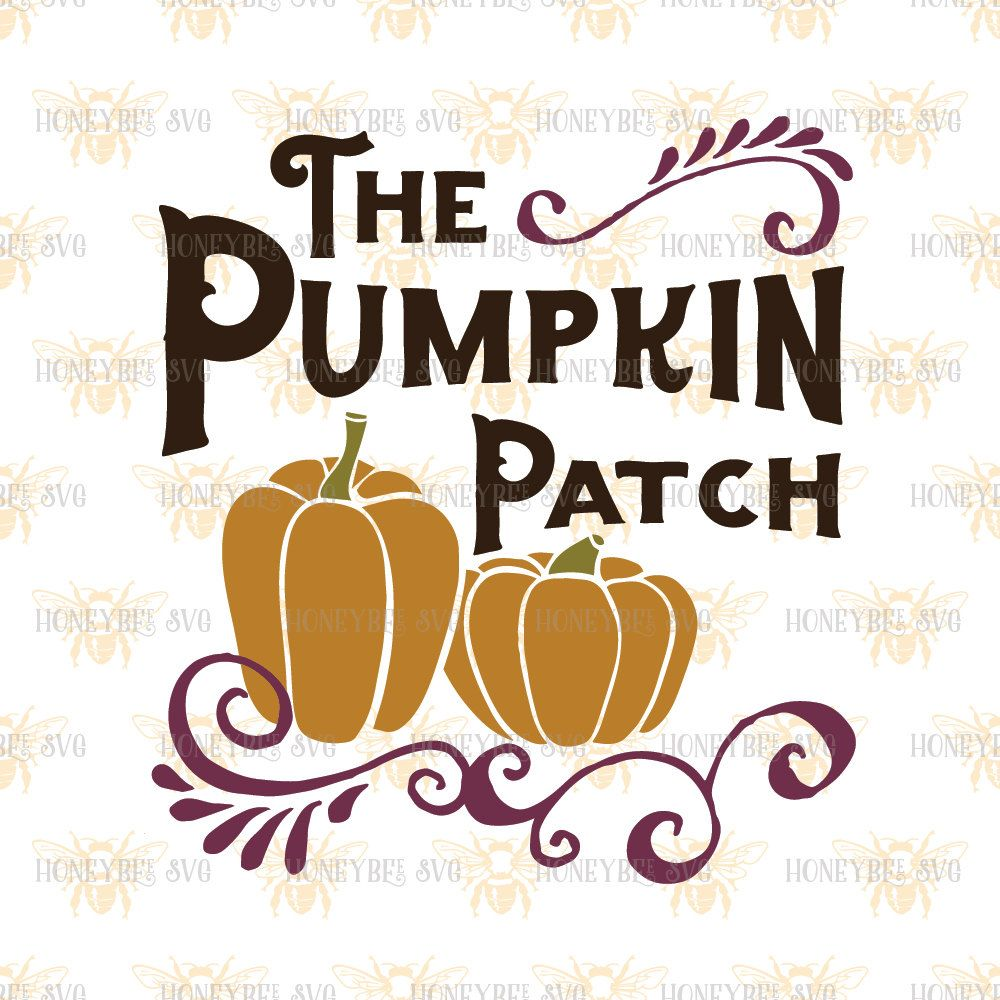The Pumpkin Patch svg Halloween svg Halloween decor svg Fall decor svg Fall svg…