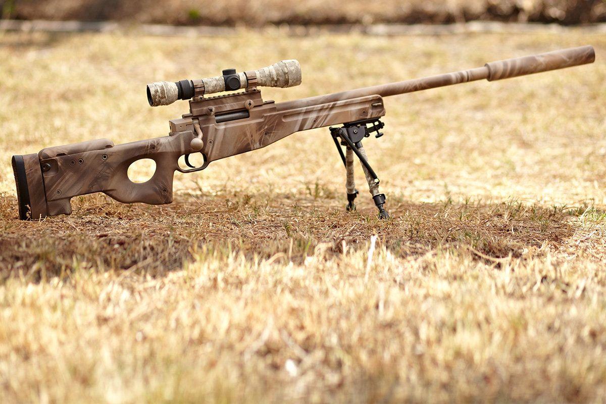 Custom painted L96 - Airsoft Sniper Forum | Custom guns ...