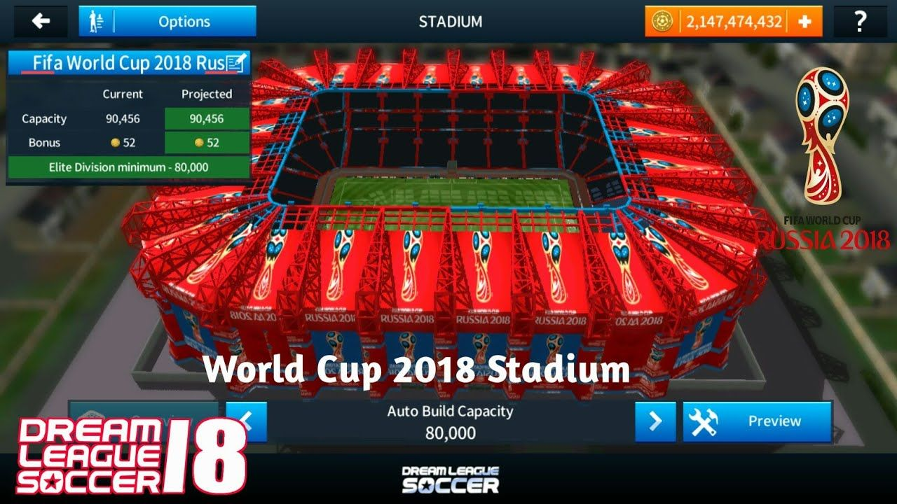 Stadium of DLS 2018 FIFA World Cup Russia Download | Sports