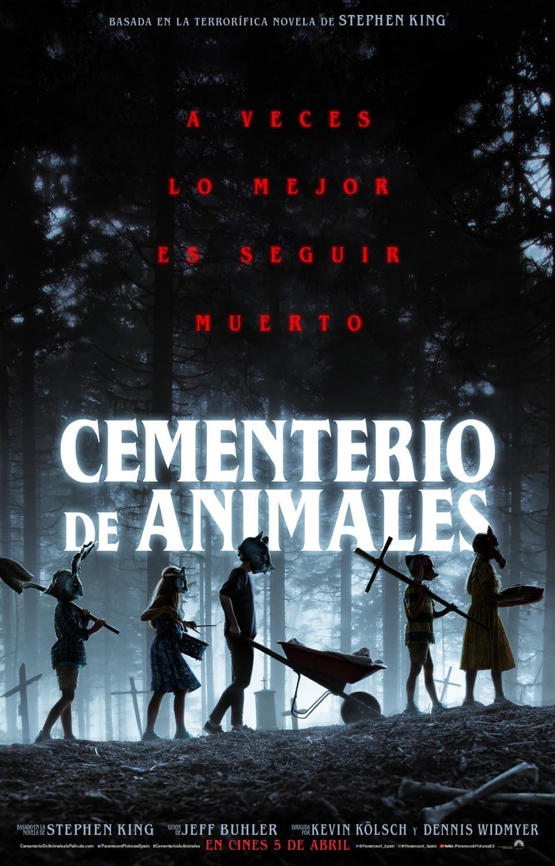 Pet Sematary 2019 Kevin Kolsch Cementerio De Animales Libros De Stephen King Cementerio De Mascotas