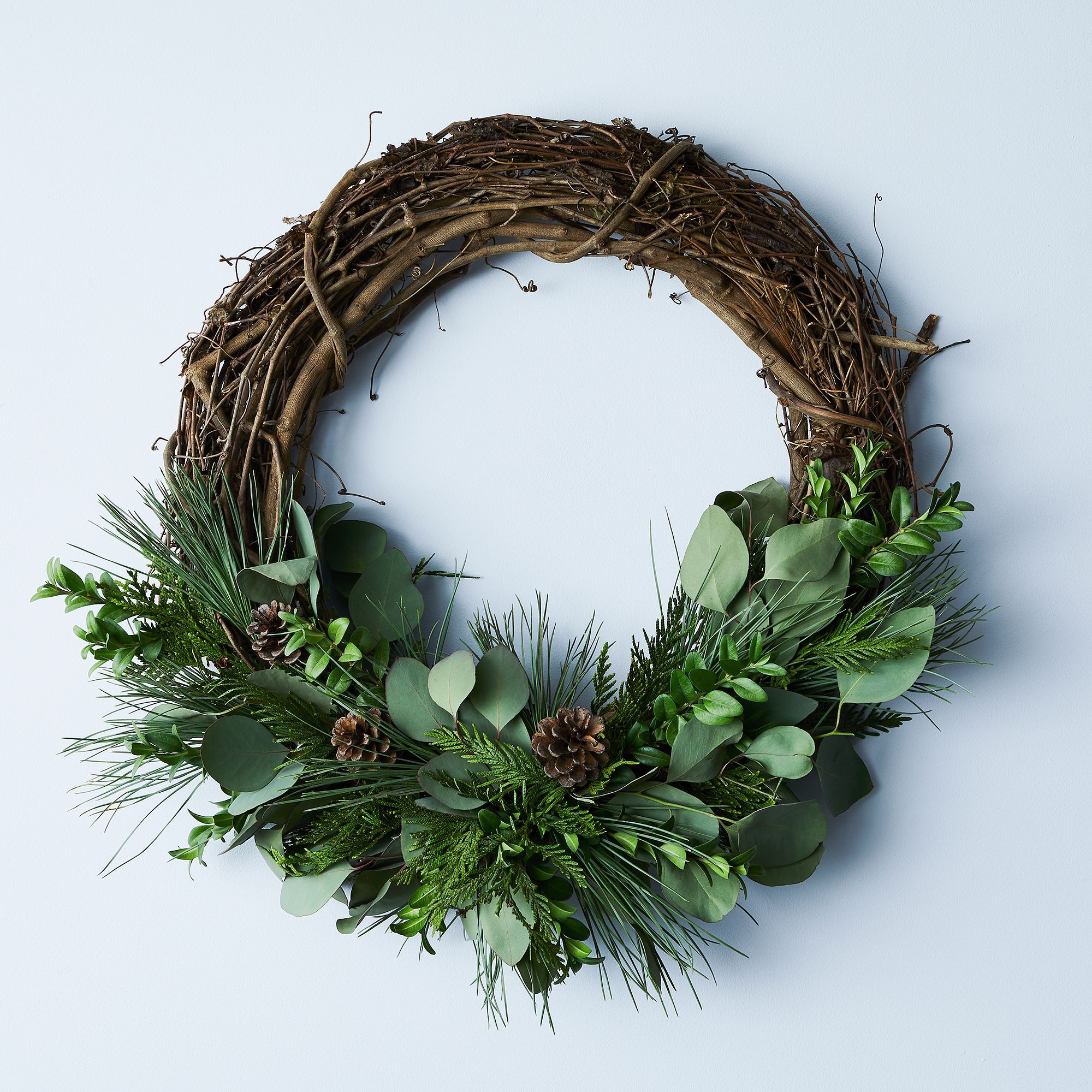 Large Winter Branch Wreath Winter Wreath Christmas Wreaths Wreaths